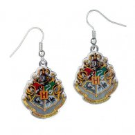 Harry Potter Silver Plated Earrings Hogwarts