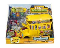 Wholesale Zomlings in the Town CRAZY SCHOOL BUS (2 pcs)