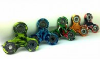 Wholesale Fidget Hand Finger Flip Spinners CAMOUFLAGE / PRINT