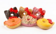 UK Wholesale Squishies Squishy DOUGHNUT DONUT BOW MEDIUM (10 pc)