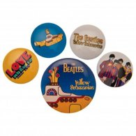 The Beatles Button Badge Set Yellow Submarine