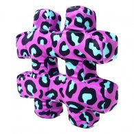PRE-ORDER Wholesale Hashtag Cushion PINK LEOPARD Soft