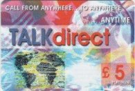 Pack of £5 Talk Direct Phonecards