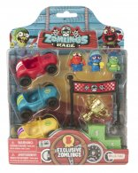 Wholesale Zomlings in the Town RACE BLISTER PACKS (6 pcs)