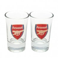 Arsenal F.C. 2pk Shot Glass Set