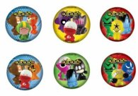 "Gogos Crazy Bones 4"" PU Mini Ball"