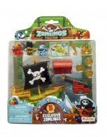Wholesale Zomlings in the Town PIRATES BLISTER PACKS (6 pcs)