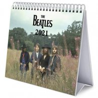 The Beatles Desktop Calendar 2021