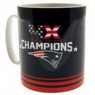 New England Patriots 4 x Super Bowl Champions Mug
