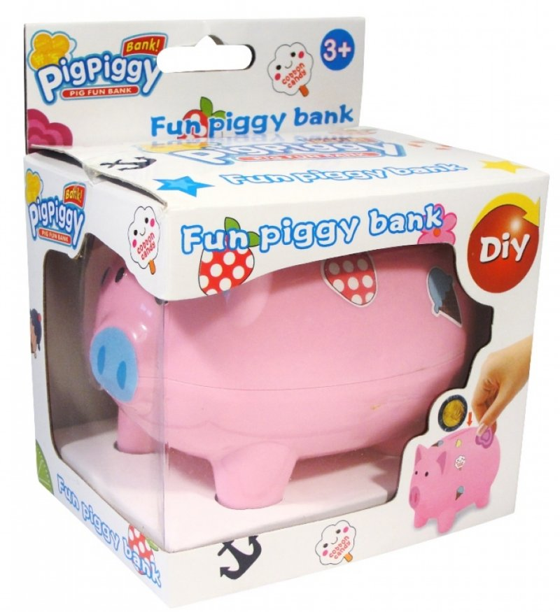 Decorate Your Piggy Bank 12 pce Inner^