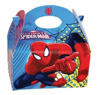 Spiderman Party Food Box 24 pce Inner