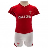 Wales R.U. Shirt & Short Set 3/6 mths PS