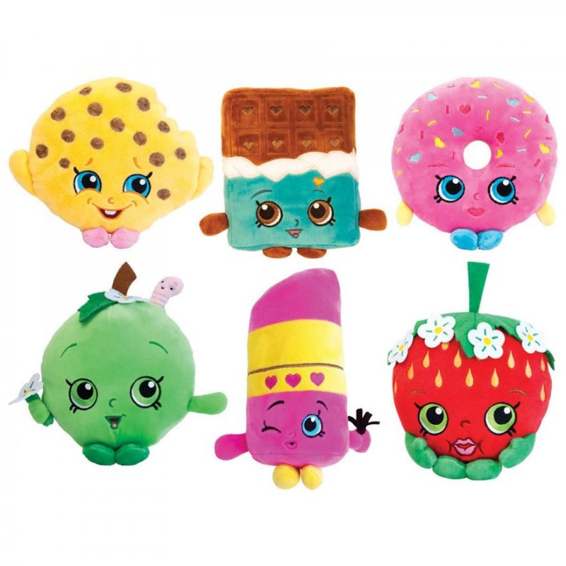 Wholesale Shopkins Plush Toys (6 pcs)