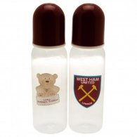 West Ham United F.C. 2pk Feeding Bottles