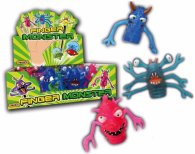 Wholesale Box of Finger Monsters Characters Kids Toys (12 pcs)