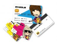 Credit Crunch Fun Novelty Trading Cards Kids (50 packs)
