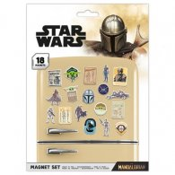 Star Wars The Mandalorian Fridge Magnet Set