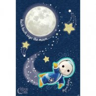 Moon And Me Poster Hush Hush 106