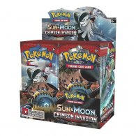 Wholesale Pokemon CRIMSON INVASION Trading Card Game Boosters