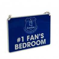Everton F.C. Bedroom Sign No1 Fan