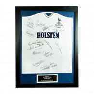 Tottenham Hotspur F.C. 1984 UEFA Cup Final Signed Shirt (Framed)