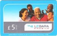 Pack of £5 Lebara Mobile Vouchers