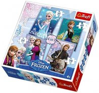 Wholesale Disney Frozen 4 in 1 Puzzle