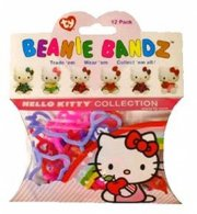 Box of Official TY Hello Kitty Beanie Bandz