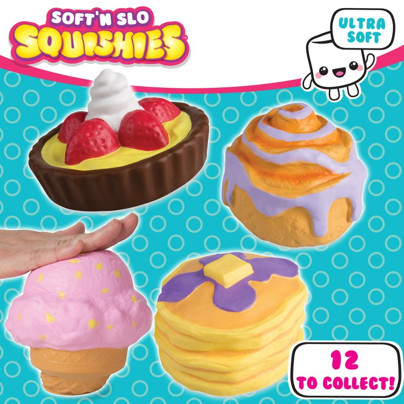 Wholesale Soft N Slo Squishies Sweet Shop Ultra Series 1 Squishy