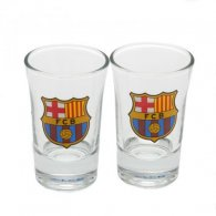 F.C. Barcelona 2pk Shot Glass Set