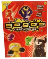 Gogos Crazy Bones Red Sticker Collector Album - Series 1