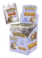 Wholesale Box of Pokemon STICKERS Series 1 Rare - 30 packets