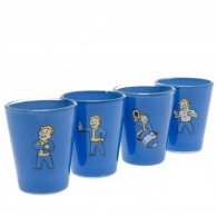 Fallout 4pk Premium Shot Glass Set