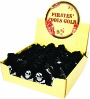 Pirate Gold Nuggets 55g In Bag 24pce ^