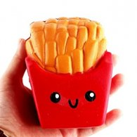 UK Wholesale Squishies Squishy FRENCH FRIES Slow Rising Toys