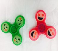 Wholesale Fidget Hand Finger Spinners GLOW IN THE DARK SMILES