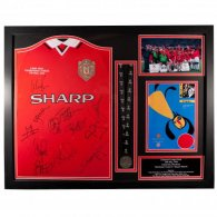 Manchester United F.C. 1999 Champions League Final Signed Shirt