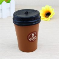 UK Wholesale Squishies Squishy COFFEE CUP BROWN Slow Rise Toys