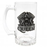 Queen Glass Tankard