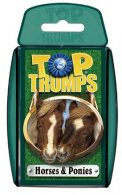 UK Wholesale Top Trumps - HORSES AND PONIES Cards (6 packs)