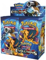Wholesale Pokemon Trading Card Game XY12 EVOLUTIONS Booster Box