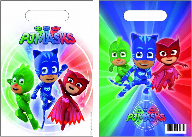 PJ Masks Party Bags 50 pack
