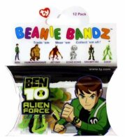 Box of Official TY Ben 10 Beanie Bandz