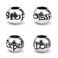 Harry Potter Silver Plated Charm Bead Set
