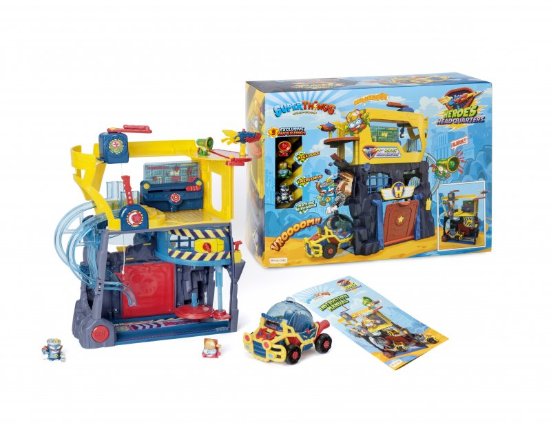 Wholesale Super Things SuperThings Secret Spies HEROES HEADQUARTERS Playset