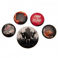 IT Chapter Two Button Badge Set
