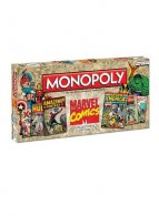 UK Wholesale Monopoly Board Game - Marvel Comics Retro Edition