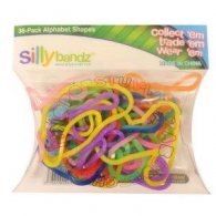 Wholesale Box of Silly Bandz - Alphabet