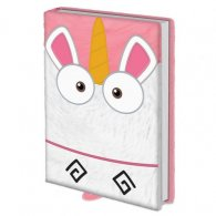 Despicable Me Premium Notebook Fluffy Unicorn