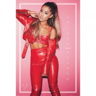 Ariana Grande Poster Red 207